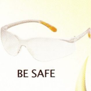 GLASSES BE SAFE