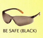 GLASSES BE SAFE (BLACK)