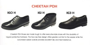 CHEETAH SAFETY SHOES - 160 H  - 161 H - 163 H