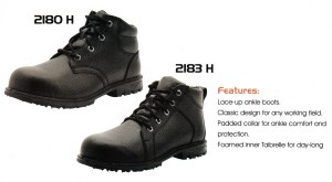 CHEETAH SAFETY SHOES - 2180 H - 2183 H