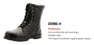 CHEETAH SAFETY SHOES - 2286 H