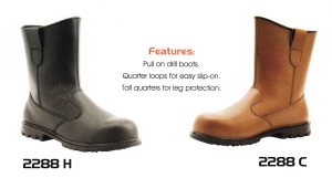 CHEETAH SAFETY SHOES – 2288 H & 2288 C