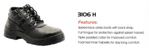 CHEETAH SAFETY SHOES - 3106 H