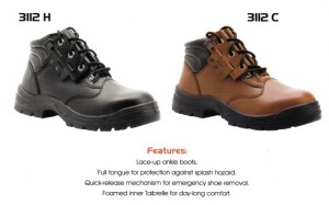 CHEETAH SAFETY SHOES - 3112 H - 3112 C