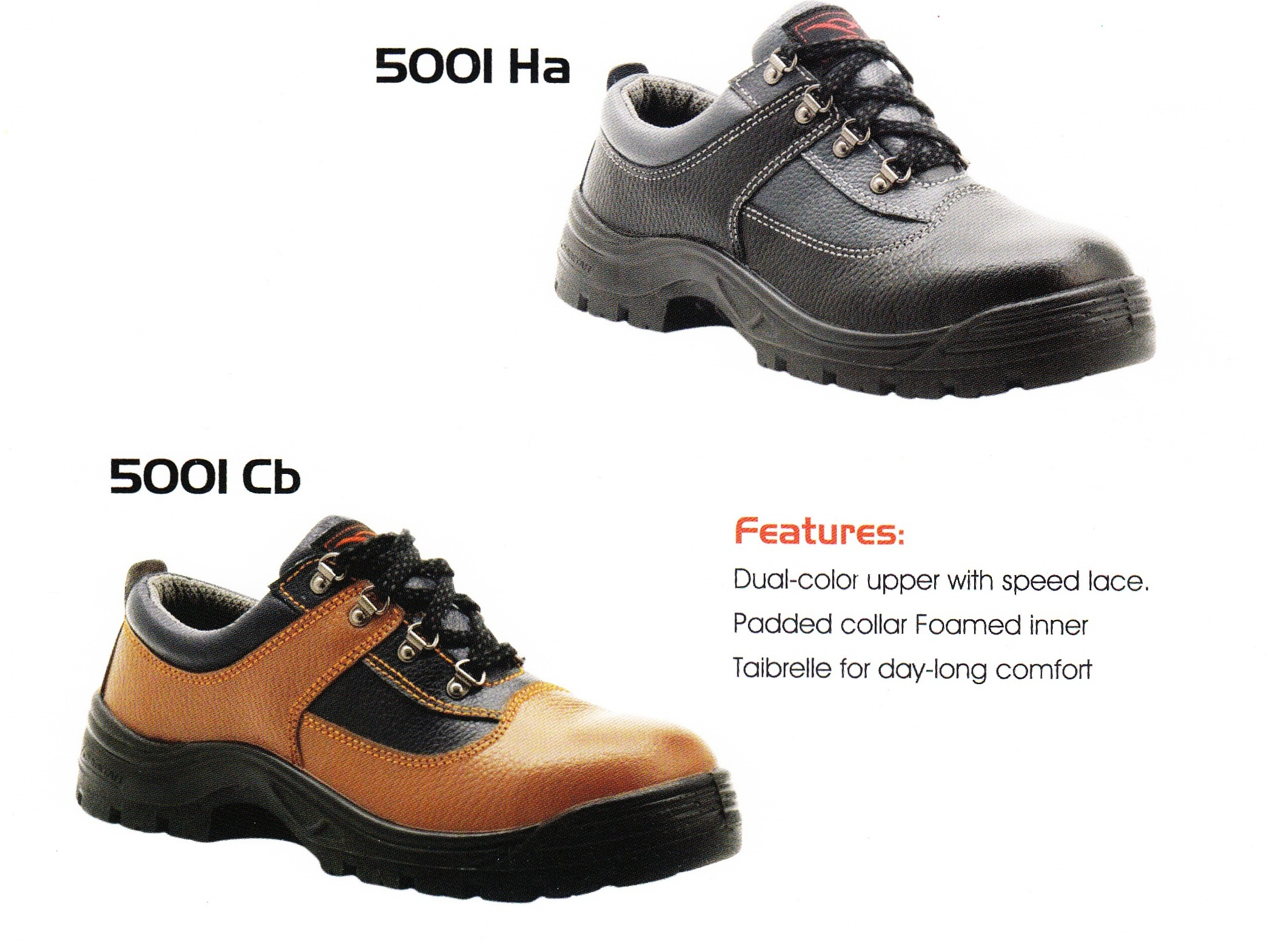 CHEETAH SAFETY SHOES 5001 Ha Amp 5001 Cb