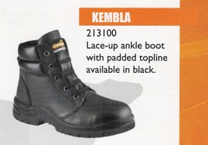 KRUSHERS SAFETY SHOES – KEMBLA