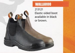 KRUSHERS SAFETY SHOES - WALLAROO