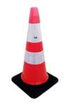 TRAFFIC CONE RUBBER FLEXIBLE MERK ASGARD